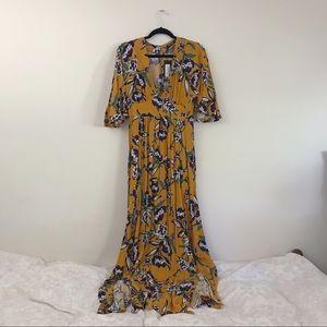 NWT Nasty Gal floral dress